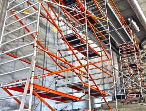 השכרת פיגומים לעבודה בטיחותית בגובה